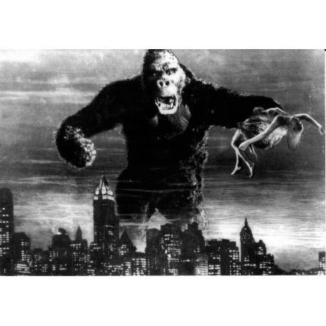 Carte King Kong - 1963 - 10.5x15 cm