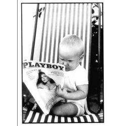 Carte Julien Playboy - Photo Jean Rey - 10.5x15 cm