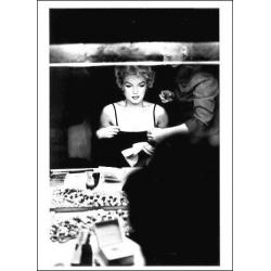 Carte Marilyn Monroe - Table de Maquillage - 10.5x15 cm