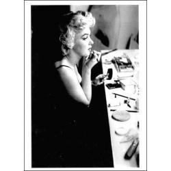 Carte Marilyn Monroe - Maquillage - 10.5x15 cm