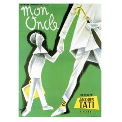 Carte Mon Oncle - Jacques Tati - 10.5x15 cm
