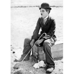 Carte Charlie Chaplin - Circus - 10.5x15 cm