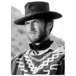 Carte Clint Eastwood - Portrait - 10.5x15 cm
