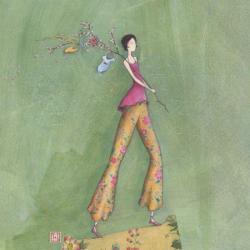 Carte Gaëlle Boissonnard - Baby boom - 14x14 cm