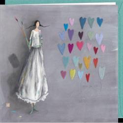 Carte Gaëlle Boissonnard - Street Heart - 16x16 cm