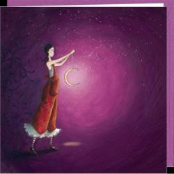 Carte Gaëlle Boissonnard - Clair de lune - 16x16 cm