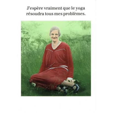 Carte Cath Tate - Le Yoga... - 10.5x15 cm