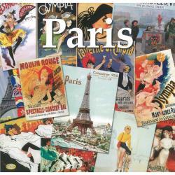 """Calendrier Clouet 2016 """"Paris"""" Format 30x30 cm"""