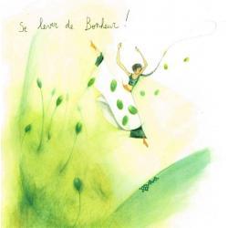Carte Anne- Sophie Rutsaert - Se lever de Bonheur!- 14x14 cm