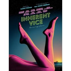 Inherent Vice de Paul Thomas Anderson 2015 - 40x53 cm - Affiche officielle du film