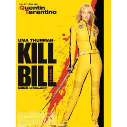 Kill Bill Volume 1 de Quentin Tarantino 2003 (2004) - 40x53 cm Pliée - Affiche officielle du film