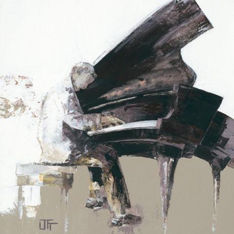 Carte Bernard Ott - Le virtuose - 14x14 cm