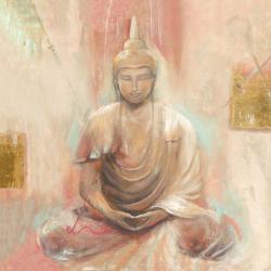 Carte Elvira Amrhein - Buddha II - 14x14 cm