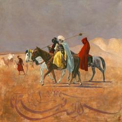 Carte Sophie Le_Dain - La traversée du désert - 14x14 cm