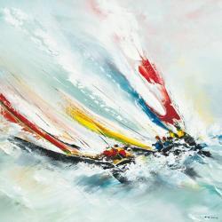 Carte Gérard de_Courcy - Bord à bord - 14x14 cm