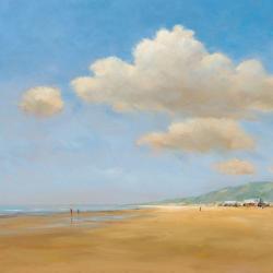 Carte Jan Groenhart - Strandwandeling - 14x14 cm