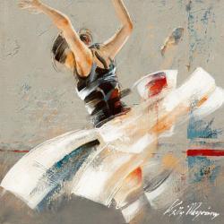 Carte Kitty Meijering - Dance Fusion I - 14x14 cm