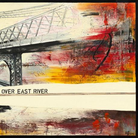 Carte Caroline Laffargue - Walk Over East River II - 14x14 cm