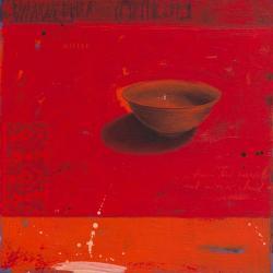 Carte Marylin Cavin - Rouge ascendant - 14x14 cm