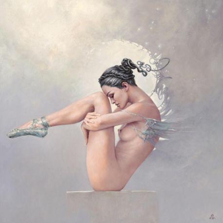 Carte Karol Bak - Disappointment - 14x14 cm