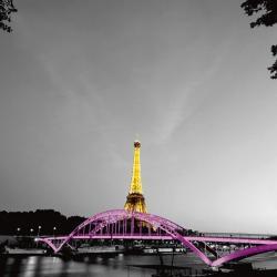 Carte Anne Valverde - Shiny Eiffel - 14x14 cm