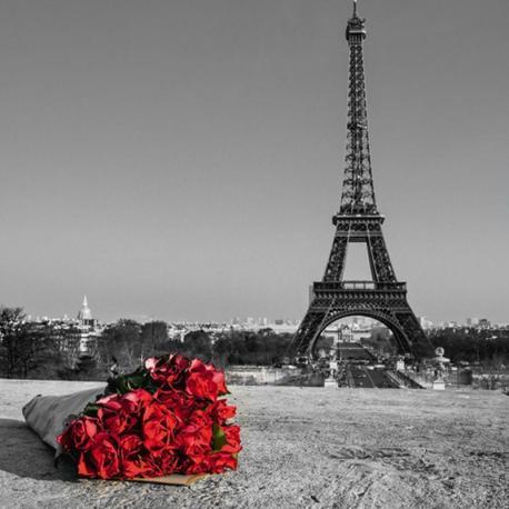Carte Franck Assaf - Love story I - 14x14 cm