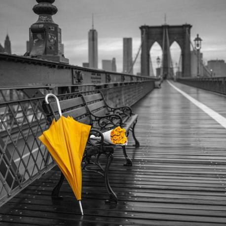 Carte Franck Assaf - New-york II - 14x14 cm