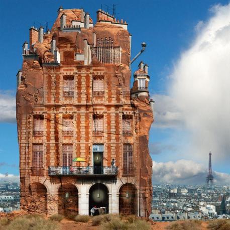 Carte Maïlo - Rêves de Paris dans l'Ouest Américain - 14x14 cm