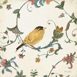 Carte Emily Adams - Birds gem III - 14x14 cm