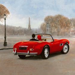 Carte Marco Fabiano - A ride in Paris III - 14x14 cm