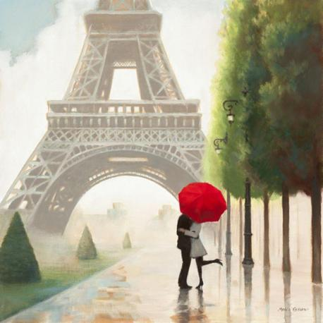 Carte Marco Fabiano - Paris Romance II - 14x14 cm