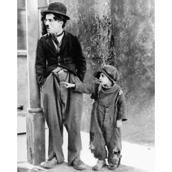 Affiche Le Kid - Chaplin - Dimension 24x30 cm