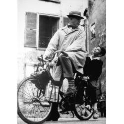 Affiche Jacques Tati - Mon oncle - 50x70 cm