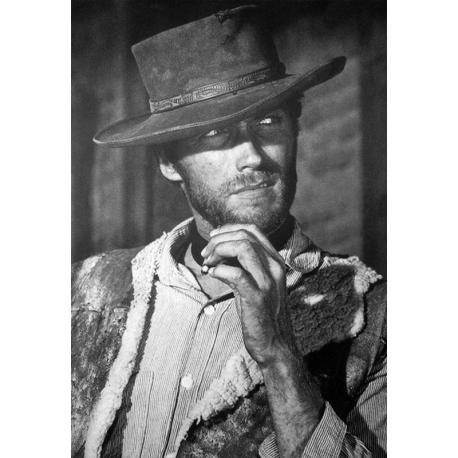 Affiche Clint Eastwood - Dim: 50x70 cm