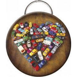 """Porte clés décapsuleur Lali """"Love Toy Cars"""" (Diamètre: 56mm)"""