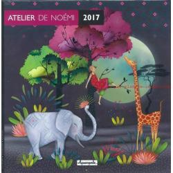 Calendrier Atelier de Noémi 2017 - 30x30 cm