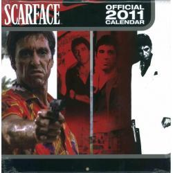 Calendrier Scarface 2011 filmé 30x30 cm