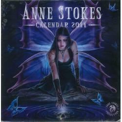 Calendrier Anne Stockes 2011 filmé 30x30 cm
