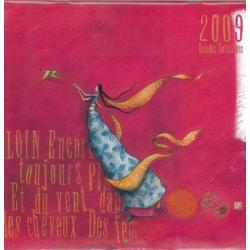 """Calendrier Gaëlle Boissonnard 2009 """"Balades lointaines"""" 30x30 cm"""