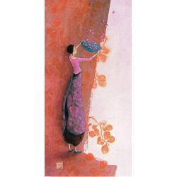 "Carte Gaëlle Boissonnard ""Femme tamis"" New 10.5x21 cm"