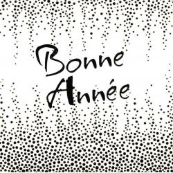 """Carte de Voeux """"Bonne Année"""" 4393 - 14.5x14.5 cm"""