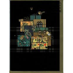 Carte de voeux de Noël et Fin d'Année Bug Art - Gift Bird - 12x17 cm