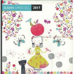 Calendrier Susan Driscoll 2017 - 30x30 cm