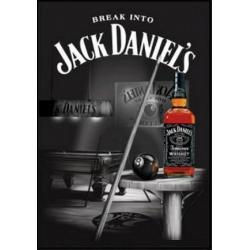 """Tableau 3D """"Jack Daniel's"""" - MDF - 29.5 x 39.5 cm"""