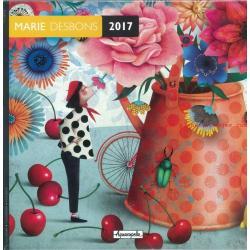 Calendrier Marie desbons 2017 - 30x30 cm