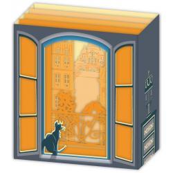 Carte 3D Petits Brins de Vie - Les pigeons - 10x10.5x5 cm