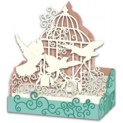 Carte 3D Petits Brins de Vie - Les cadeaux - 10x10.5x5 cm