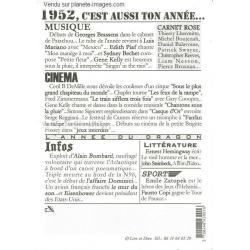 Carte Année 1952 - Cette année là ! - 12x17 cm