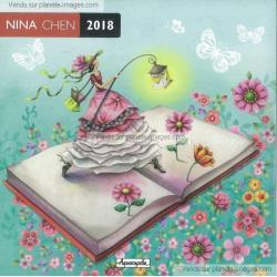 Calendrier Nina Chen 2018 - La lanterne - 30x30 cm