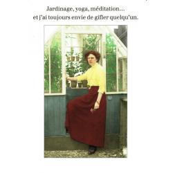 Carte Cath Tate - Jardinage, yoga, méditation... - 10.5x15 cm